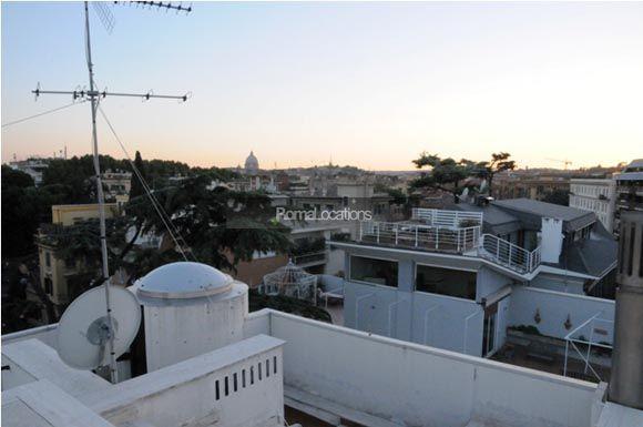appartamento attico vista tetti #05